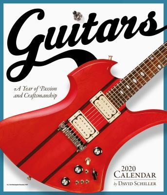 Guitars Wall Calendar 2020 Cover Image