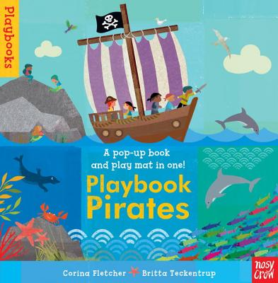 Playbook Pirates [With Stand-Up Play Pieces and Foldout 3D Play Mat] Cover