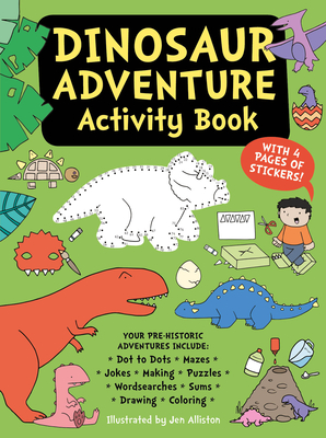 Dinosaur Adventure Activity Book Cover Image