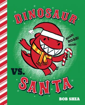 Dinosaur vs. Santa Cover