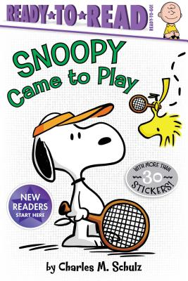 Snoopy Came to Play (Peanuts) Cover Image