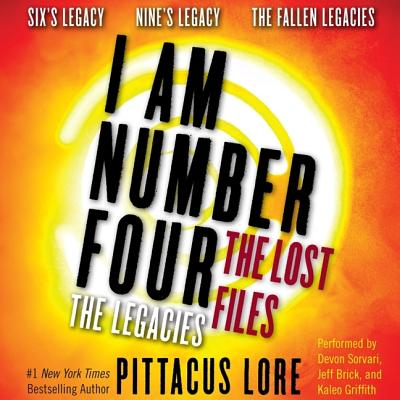 I Am Number Four: The Lost Files: The Legacies: Six's Legacy, Nine's Legacy, and the Fallen Legacies (I Am Number Four Series: The Lost Files #1) Cover Image