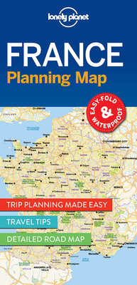Lonely Planet France Planning Map (Planning Maps) Cover Image