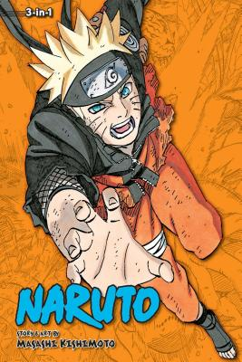 Naruto (3-in-1 Edition), Vol. 23 cover image