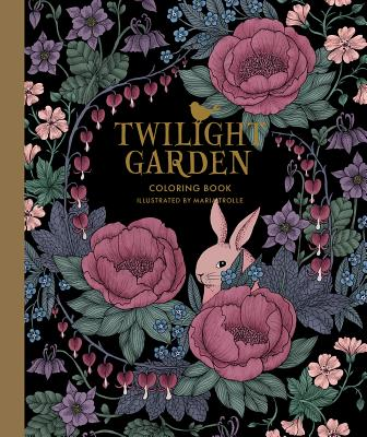 Twilight Garden Coloring Book: Published in Sweden as
