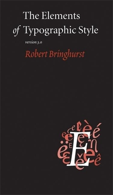 The Elements of Typographic Style Cover