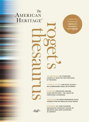 The American Heritage Roget's Thesaurus Cover Image