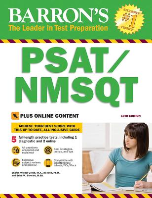 PSAT/NMSQT with Online Tests (Barron's Test Prep) Cover Image