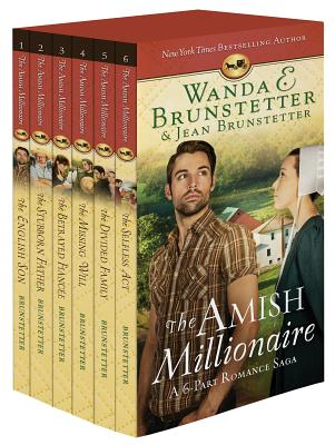 The Amish Millionaire Boxed Set Cover Image
