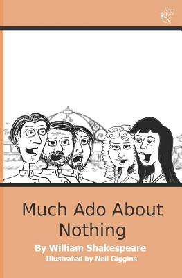 Much ADO about Nothing: Easyread Shakespeare (Easy Read Shakespeare #4) Cover Image