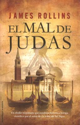 El Mal de Judas = The Judas Strain (Roca Editorial Misterio) Cover Image