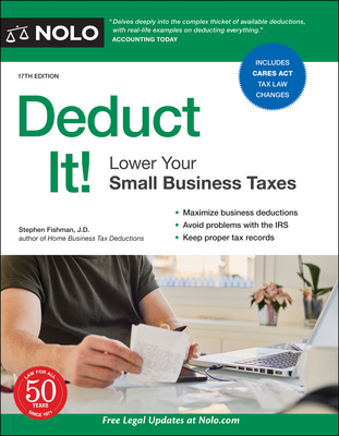 Deduct It!: Lower Your Small Business Taxes Cover Image