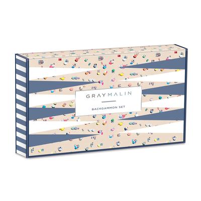 Gray Malin The Beach Backgammon Cover Image