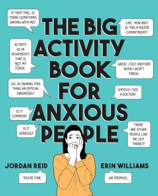 The Big Activity Book for Anxious People Cover Image