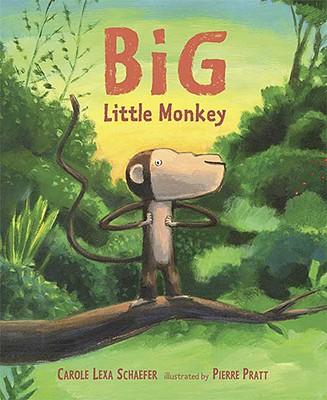 Big Little Monkey Cover