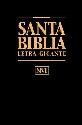 Biblia Letra Gigante-Nu = Giant Print Bible-Nu Cover Image