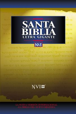 NVI Santa Biblia Letra Gigante Cover Image