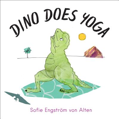 Dino Does Yoga Cover Image