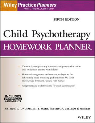 Child Psychotherapy Homework Planner (PracticePlanners) Cover Image