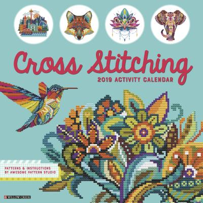 Cross Stitching 2019 Wall Calendar Cover Image