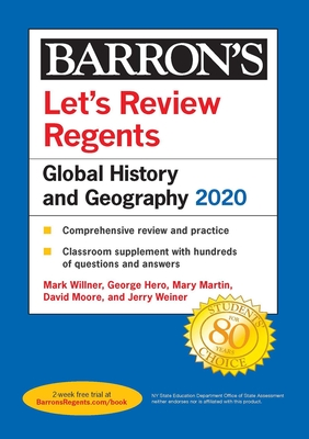 Let's Review Regents: Global History and Geography 2020 (Barron's Regents NY) Cover Image
