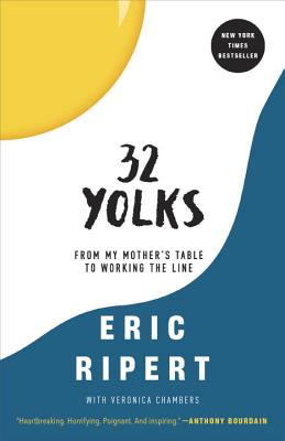 32 Yolks: From My Mother's Table to Working the Line Cover Image