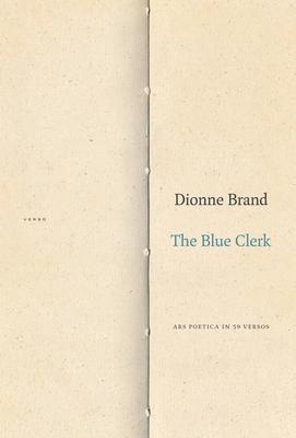 The Blue Clerk: Ars Poetica in 59 Versos Cover Image