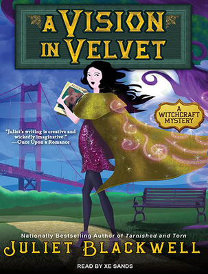 A Vision in Velvet (Witchcraft Mysteries #6) Cover Image