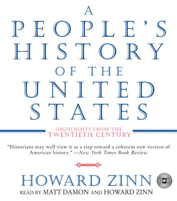 A People's History of the United States CD: Highlights from the 20th Century Cover Image