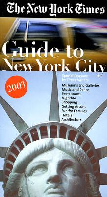 The New York Times Guide to New York City 2003 Cover Image