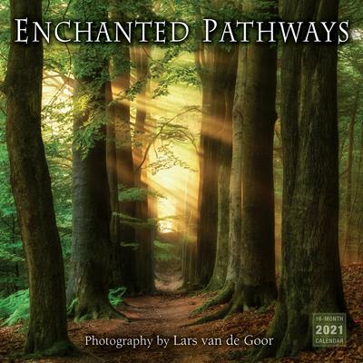 2021 Enchanted Pathways: Photography by Lars Van de Goor 16-Month Wall Calendar Cover Image