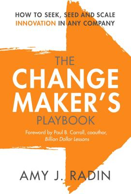 Cover for The Change Maker's Playbook