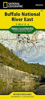 Buffalo National River East (National Geographic Maps: Trails Illustrated #233) Cover Image