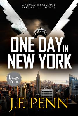 One Day In New York: Large Print (Arkane Thrillers #7) Cover Image