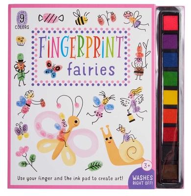 Fingerprint Fairies: (Kid's Activity Books, Art Books for Kids, Fairy Craft Books) (iSeek) Cover Image
