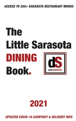 The Little Sarasota Dining Book - 2021 Cover Image