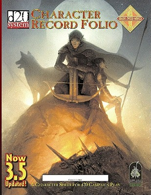 Character Record Folio Cover Image