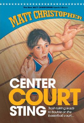 Center Court Sting (New Matt Christopher Sports Library (Library)) Cover Image