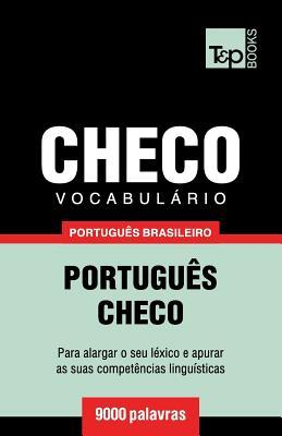 Vocabulário Português Brasileiro-Checo - 9000 palavras Cover Image