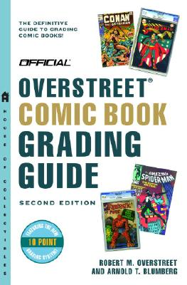 Official Overstreet Comic Book Grading Guide Cover
