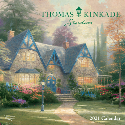 Thomas Kinkade Studios 2021 Mini Wall Calendar Cover Image