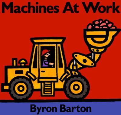 Machines at Work Board Book Cover Image