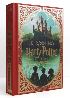 Harry Potter y la piedra filosofal (Ed. Minalima) / Harry Potter and the Sorcerer's Stone: MinaLima Edition Cover Image