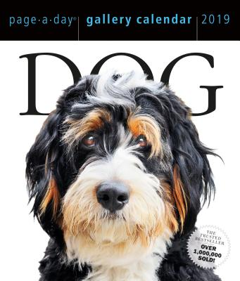 Dog Page-A-Day Gallery Calendar 2019 Cover Image