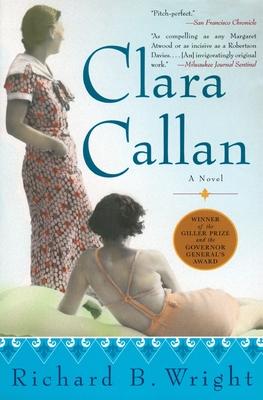 Clara Callan Cover