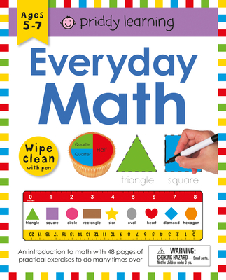 Wipe Clean Workbook: Everyday Math (enclosed spiral binding) (Wipe Clean Learning Books) Cover Image