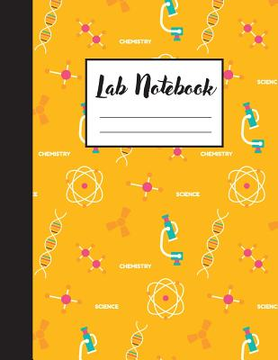 Lab Notebook: A Graph Paper Notebook With 1/4 Inch Square Quad Ruled Cover Image