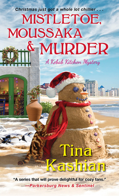 Mistletoe, Moussaka, and Murder (A Kebab Kitchen Mystery #5) Cover Image