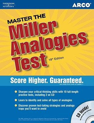 Arco Master the Miller Analgies Test [With CDROM] Cover Image