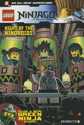 Night of the Nindroids Cover